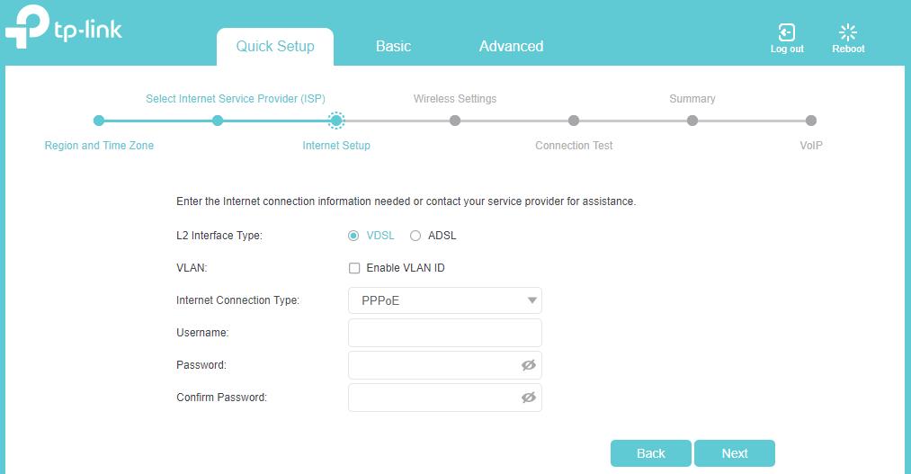 TP-Link Archer VR500v - ADSL/VDSL - Vonex Telecom